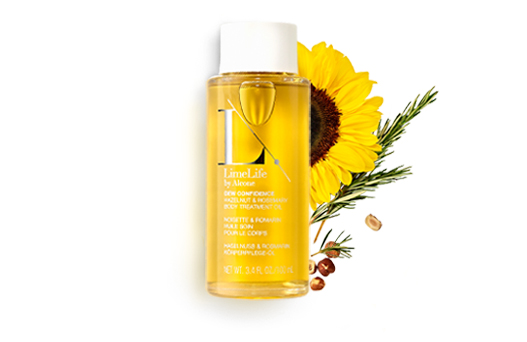 Dew Confidence HAZELNUT & ROSEMARY Body Treatment Oil